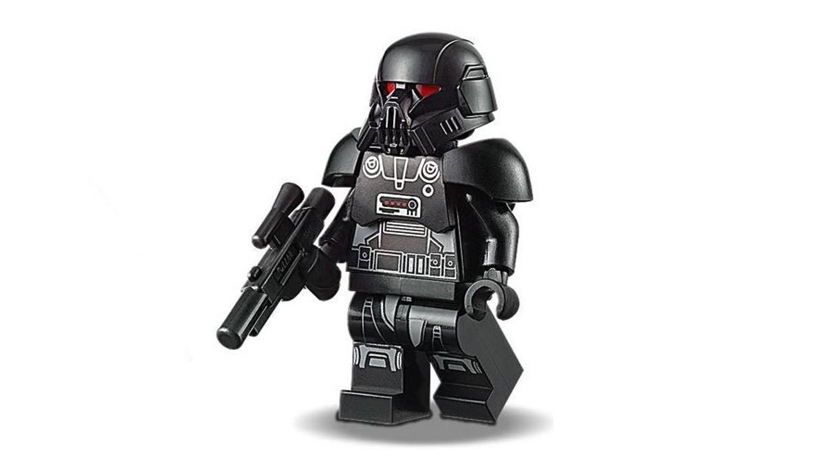 LEGO Star Wars Dark Trooper Minifigure Featured