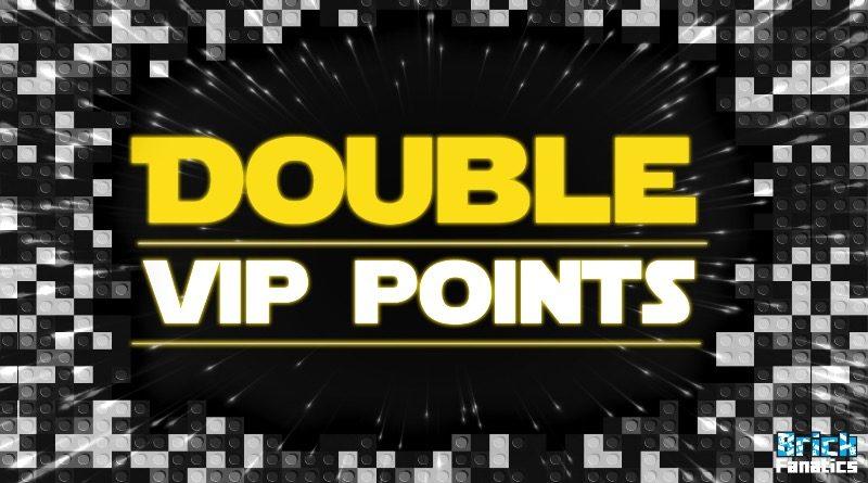 LEGO Star Wars Double VIP points Brick Fanatics featured