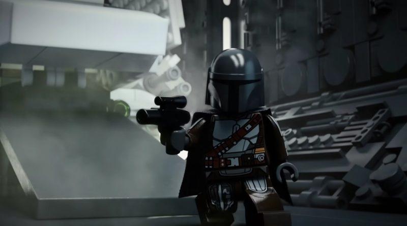 LEGO Star Wars ჰელოუინის შორტები Din Djarin Imperial Shuttle გამოჩნდა