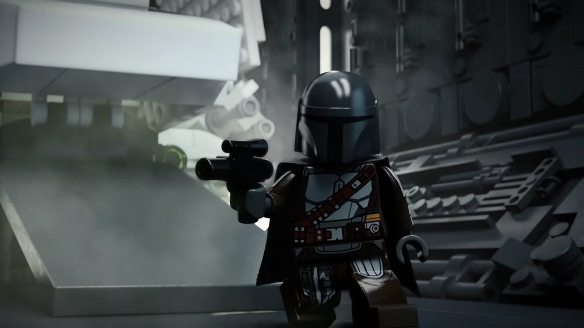 LEGO Star Wars Halloween Shorts Din Djarin Imperial Shuttle Featured