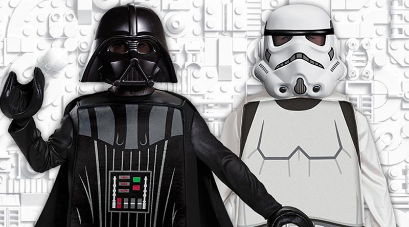 LEGO Star Wars Halloween Costumes Featured