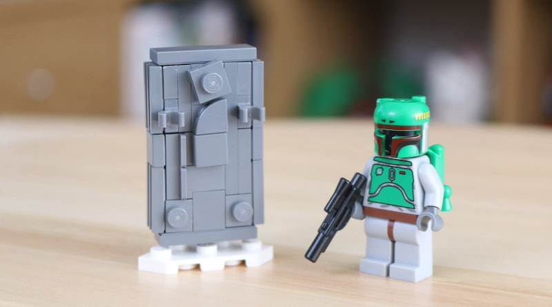 LEGO Star Wars Han Solo In Carbonite Build Feature Title