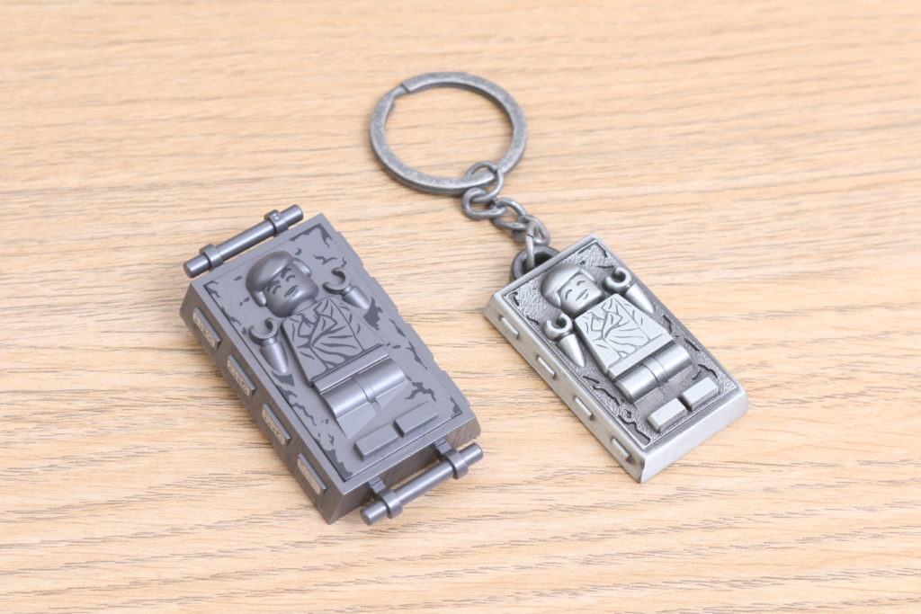 LEGO Star Wars Han Solo In Carbonite Metal Keychain Gift With Purchase VIP Reward Review 5