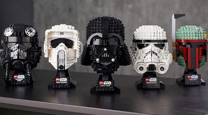 LEGO Star Wars Helmet collection sets full lifestyle featured