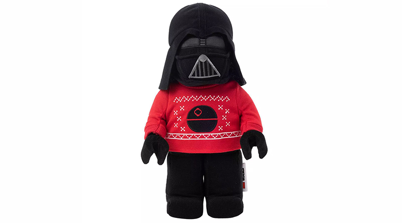 LEGO Star Wars Holiday Plush Darth Vader Featured