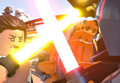 The LEGO Star Wars Holiday Special sees Rey fight Vader
