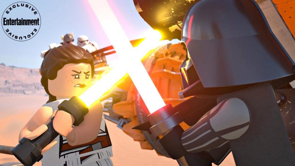LEGO Star Wars Holiday Special Rey Vader
