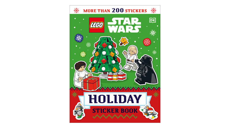 LEGO Star Wars Holiday Sticker Book Featured