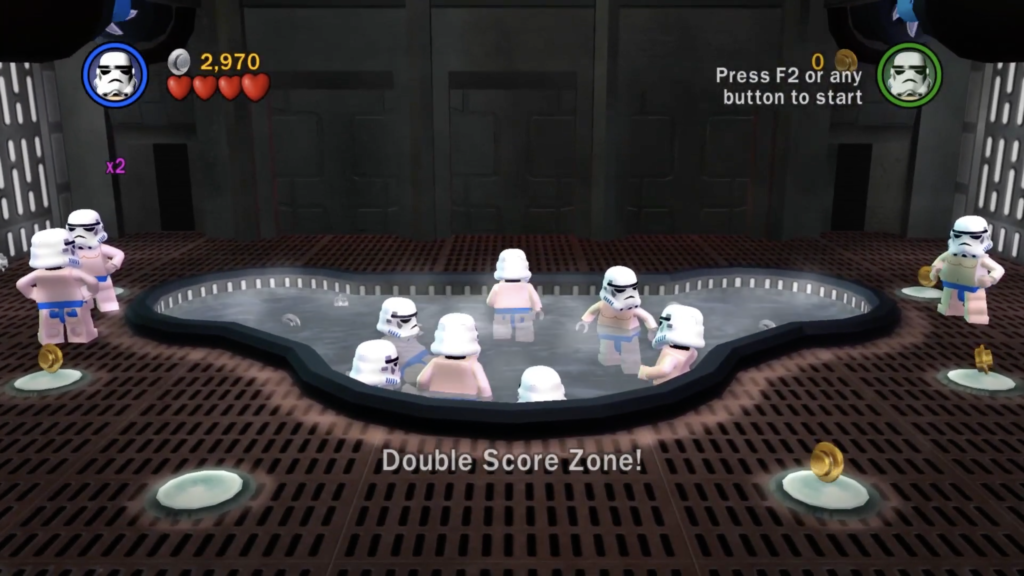 LEGO Star Wars II The Original Trilogy Beach Trooper
