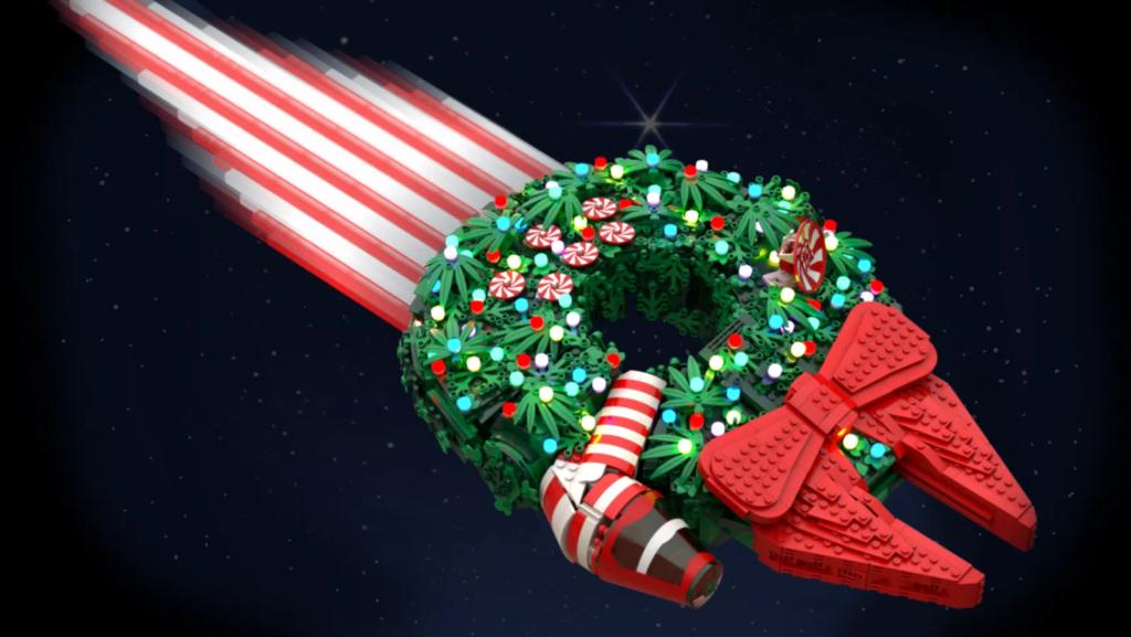 LEGO Star Wars Ideas Contest Falcon Wreath
