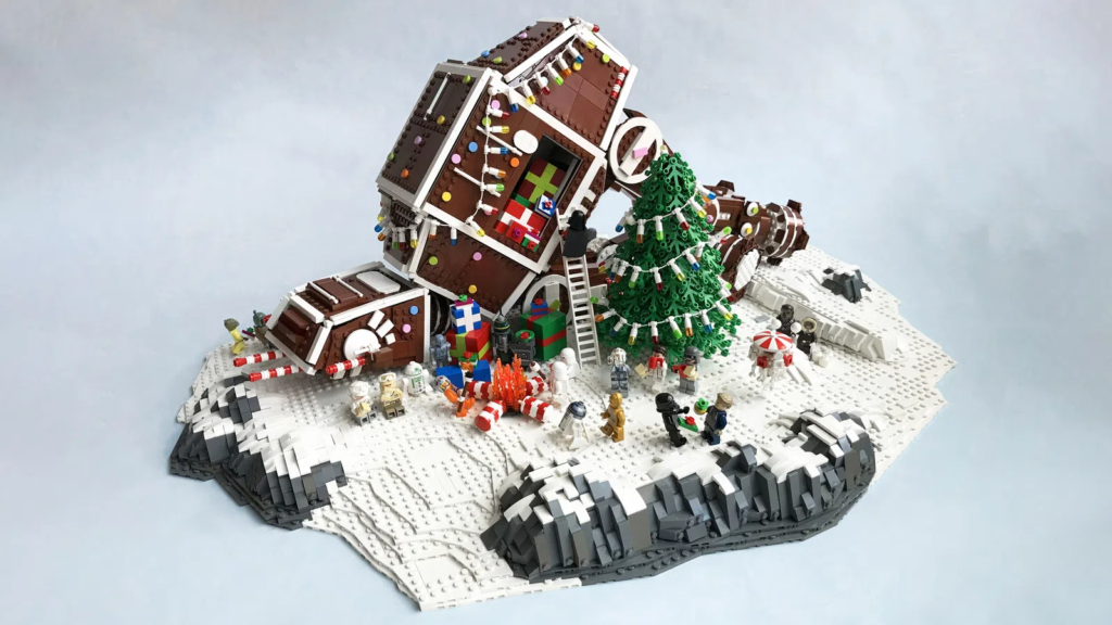 LEGO Star Wars Ideas Contest Gingerbread AT AT