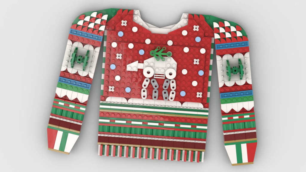 LEGO Star Wars Ideas Contest Holiday Sweater