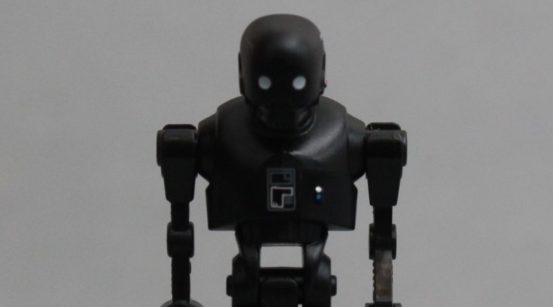 LEGO Star Wars K 2SO Minifigure Featured