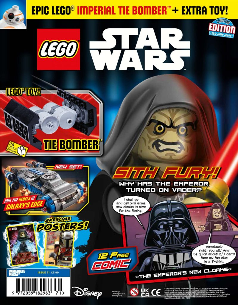 LEGO Star Wars Magazine issue 71 full