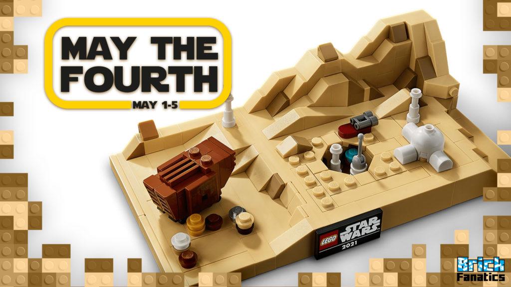 LEGO Star Wars May the Fourth 2021 Brick Fanatics 40451 Tatooine Homestead