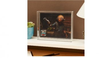 LEGO Star Wars Maz Kanata signed