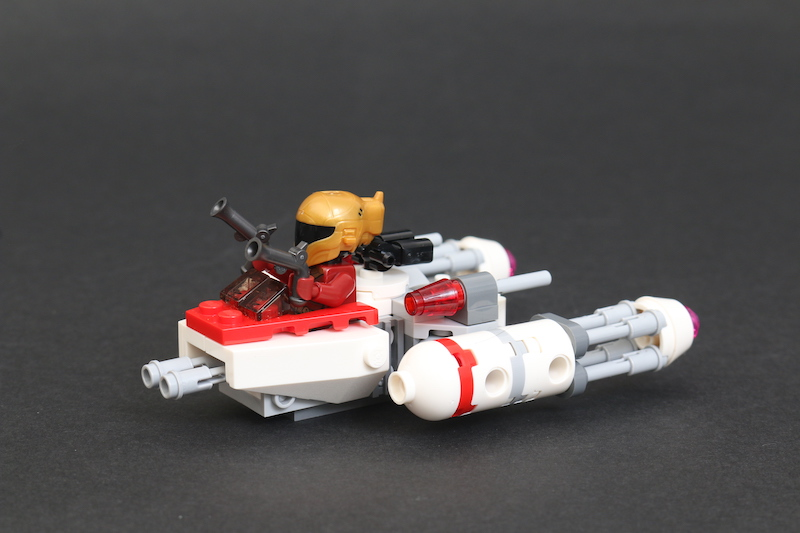 LEGO Star Wars Microfighters 75263 Resistance Y Wing 75264 Kylo Ren's Shuttle And 75265 T 16 Skyhopper Vs Bantha Review 10