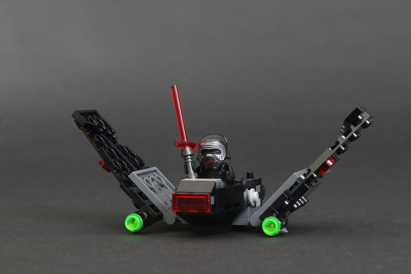 LEGO Star Wars Microfighters 75263 Resistance Y Wing 75264 Kylo Ren's Shuttle And 75265 T 16 Skyhopper Vs Bantha Review 14