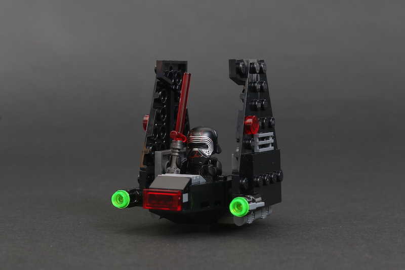 LEGO Star Wars Microfighters 75263 Resistance Y Wing 75264 Kylo Ren's Shuttle And 75265 T 16 Skyhopper Vs Bantha Review 15