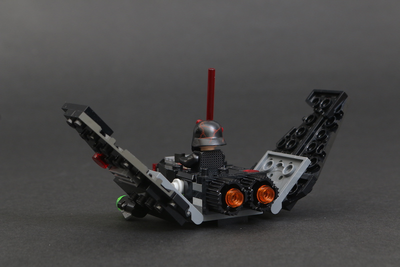 LEGO Star Wars Microfighters 75263 Resistance Y Wing 75264 Kylo Ren's Shuttle And 75265 T 16 Skyhopper Vs Bantha Review 16