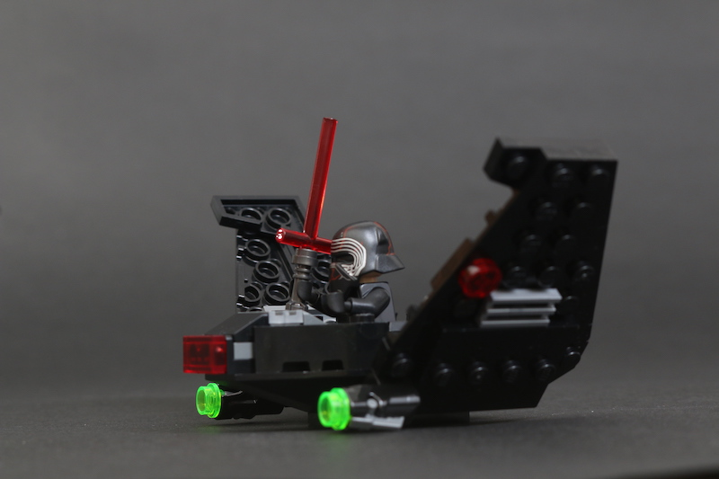 LEGO Star Wars Microfighters 75263 Resistance Y Wing 75264 Kylo Ren's Shuttle And 75265 T 16 Skyhopper Vs Bantha Review 17
