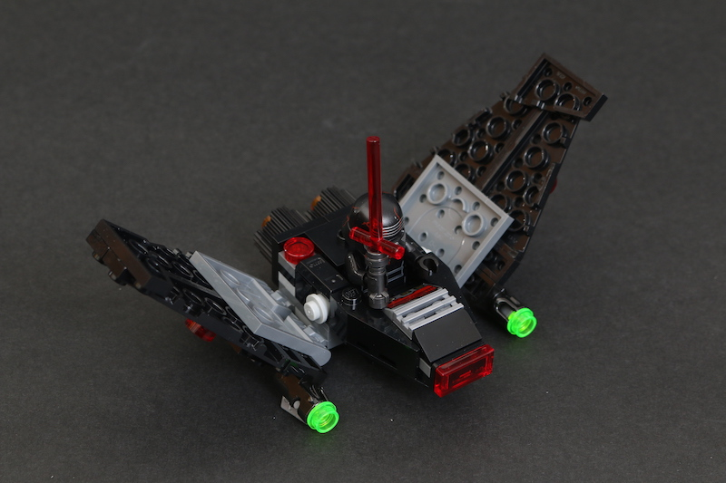 LEGO Star Wars Microfighters 75263 Resistance Y Wing 75264 Kylo Ren's Shuttle And 75265 T 16 Skyhopper Vs Bantha Review 18