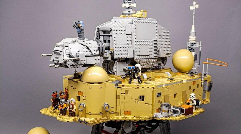 LEGO Star Wars Mos Eisley Cantina AT AT Mash Up Featured