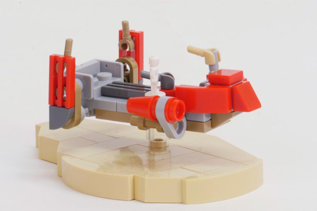 LEGO Star Wars Pasaana Speeder Chase 1