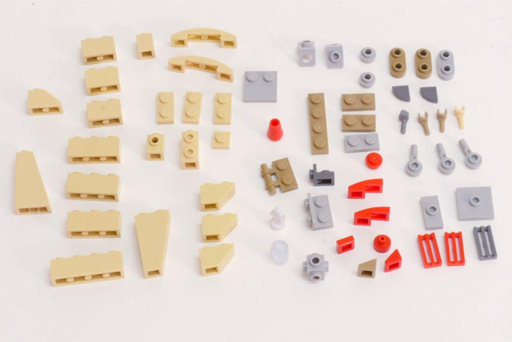 LEGO Star Wars Pasaana Speeder Steps 1