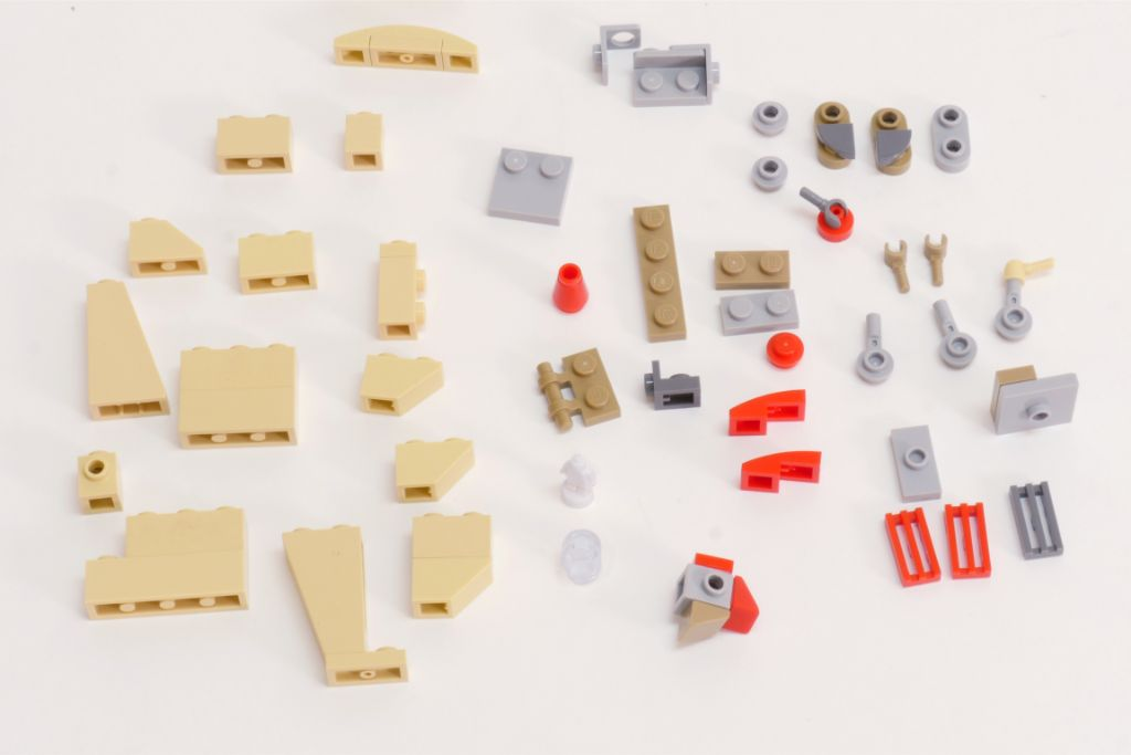 LEGO Star Wars Pasaana Speeder Steps 2