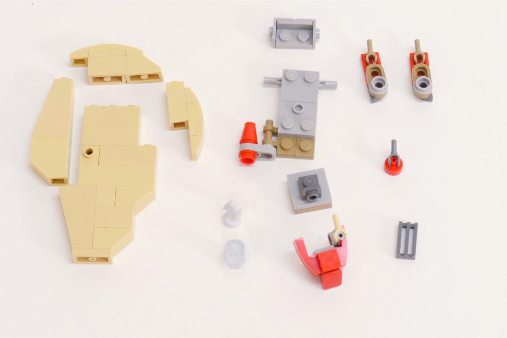 LEGO Star Wars Pasaana Speeder Steps 4