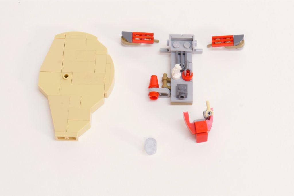 LEGO Star Wars Pasaana Speeder Steps 5