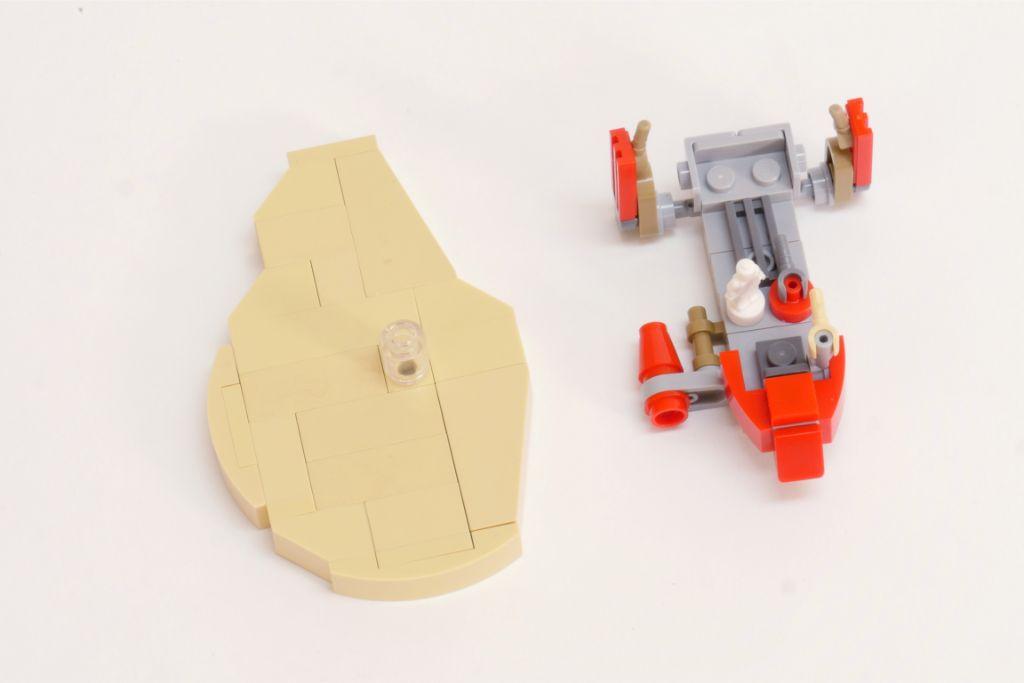 LEGO Star Wars Pasaana Speeder Steps 6