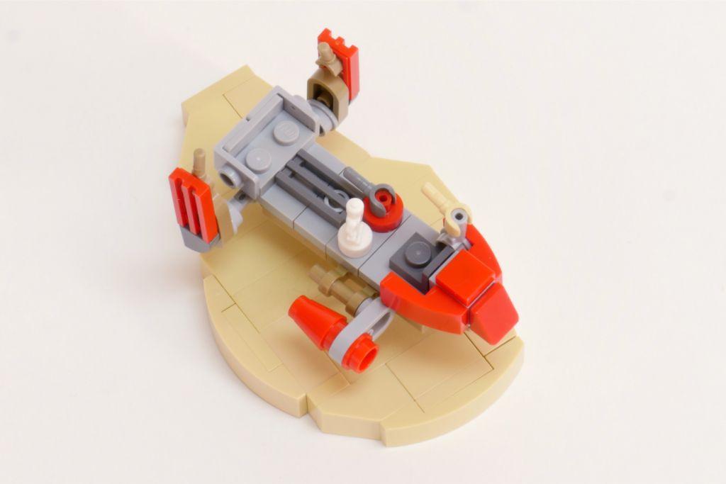 LEGO Star Wars Pasaana Speeder Steps 7