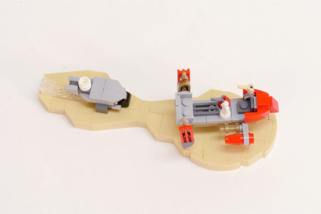 LEGO Star Wars Pasaana Speeder Steps 8