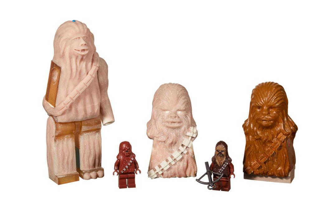 LEGO Star Wars Prototype Chewbacca minifigures