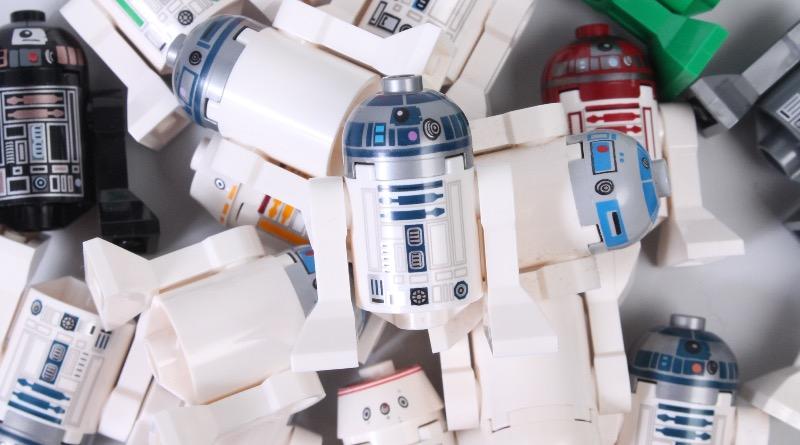 LEGO Star Wars R2 D2 Astromech Droid Minifigures