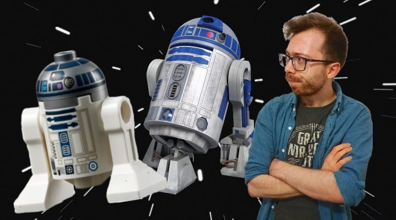 LEGO Star Wars R2 D2 column featured