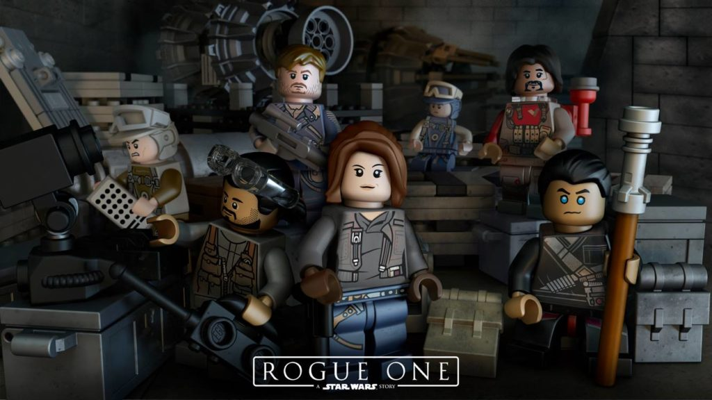 LEGO Star Wars Rogue one poster