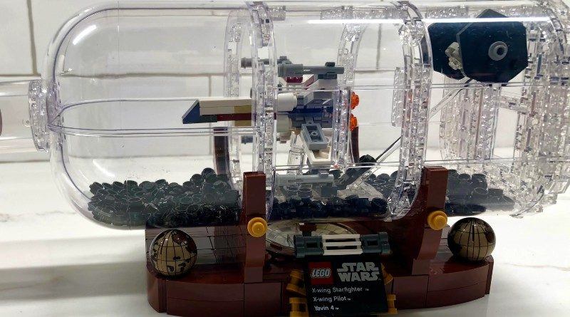 LEGO Star Wars Ship in a bottle featured