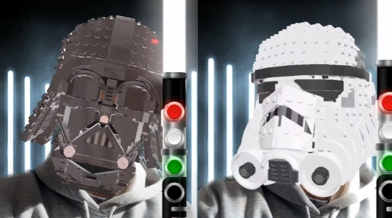 LEGO Star Wars Snapchat lenses featured