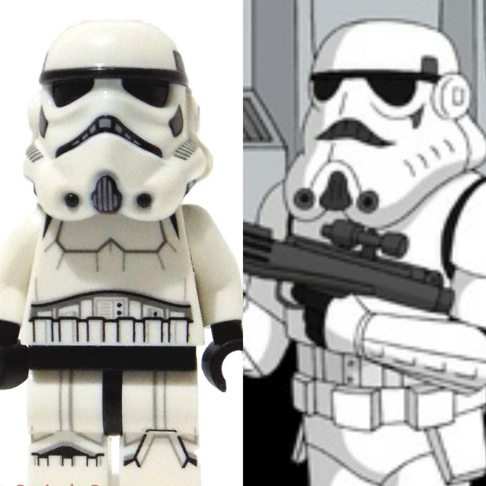 LEGO Star Wars Stormtrooper Family Guy
