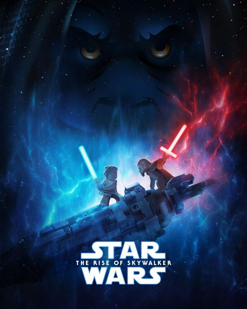 Lego Star Wars The Rise Of Skywalker Poster Revealed