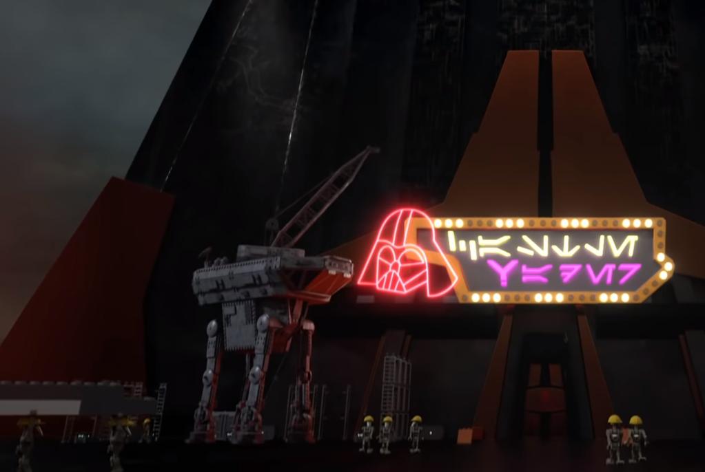 LEGO Star Wars Terrifying Tales AT AT crane