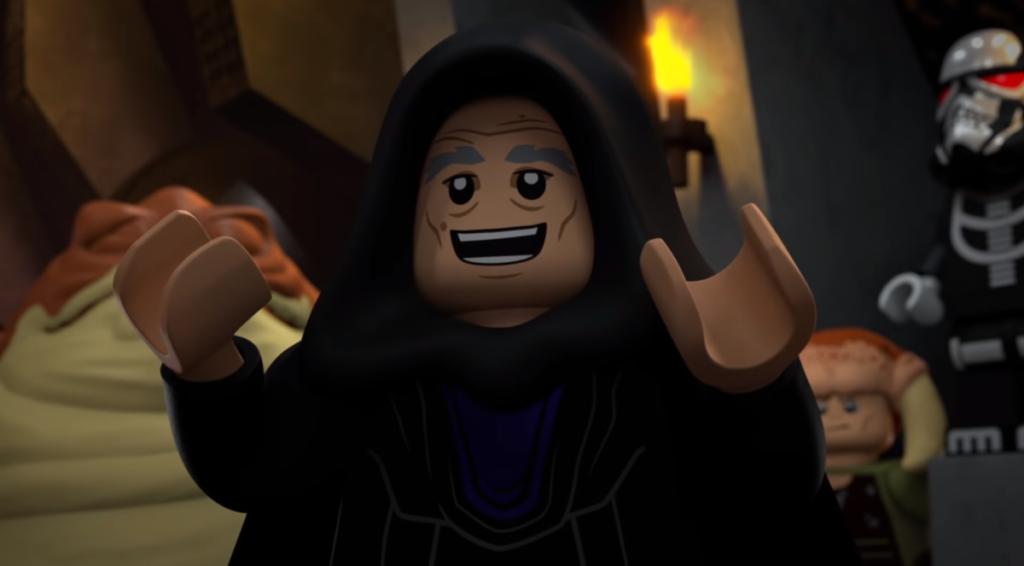 LEGO Star Wars Terrifying Tales stormtrooper skeleton