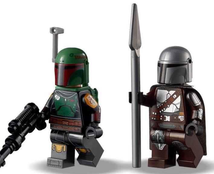 LEGO Star Wars The Mandalorian Boba Fett minifigure edit