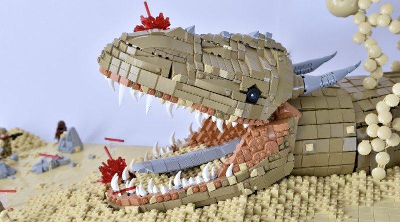 LEGO Star Wars The Mandalorian Krayt Dragon 800x445