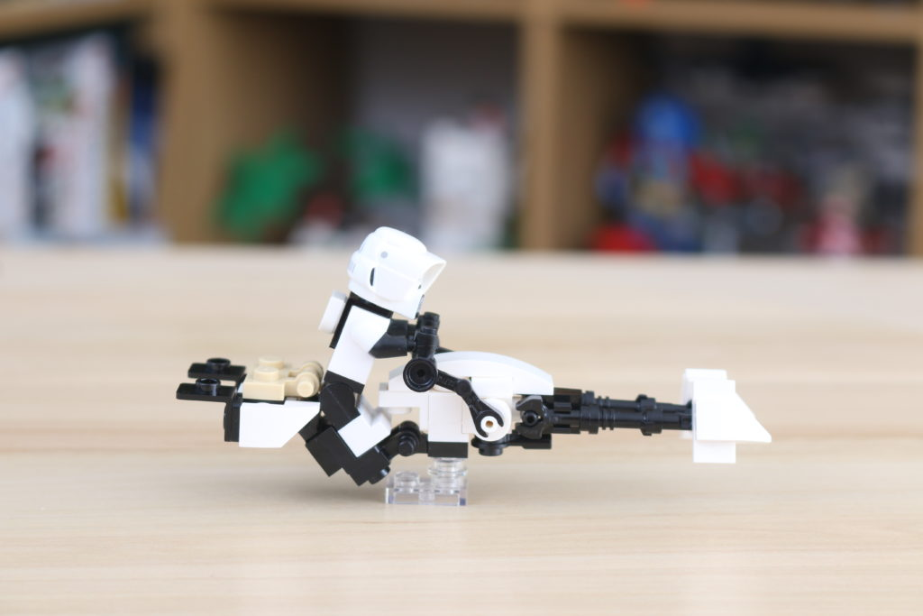 LEGO Star Wars The Mandalorian Speeder Bike Z 74 Custom Build 1