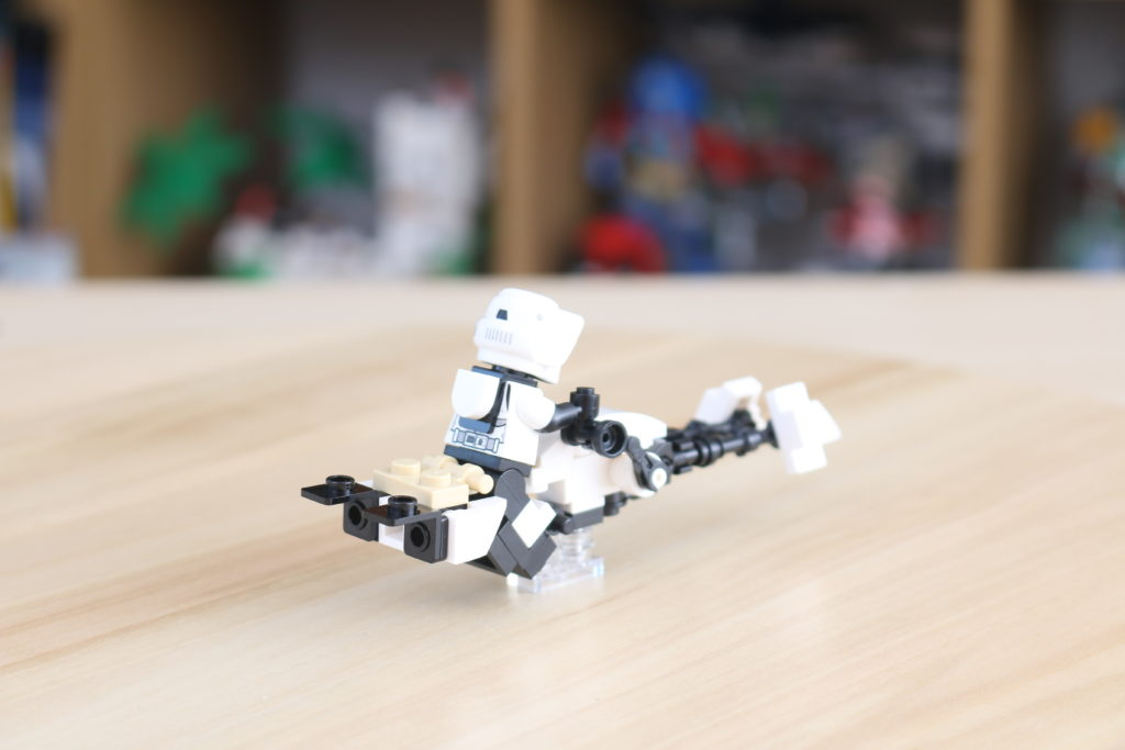 LEGO Star Wars The Mandalorian Speeder Bike Z 74 Custom Build 2