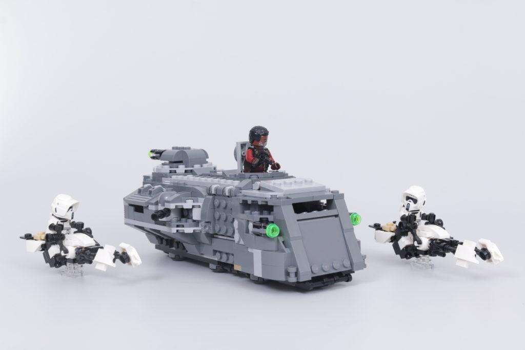 LEGO Star Wars The Mandalorian Speeder Bike Z 74 custom build competition 1